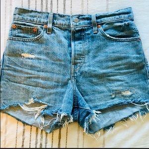 Levi's Shorts - Genuine LEVIS Wedgie Fit Jean Shorts